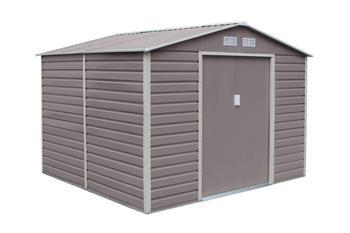 G21 GAH 706 - 277 x 255 cm-es kerti fém ház, szürke
