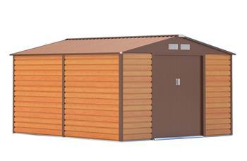G21 GAH 884 - 277 x 319 cm kerti tároló, barna