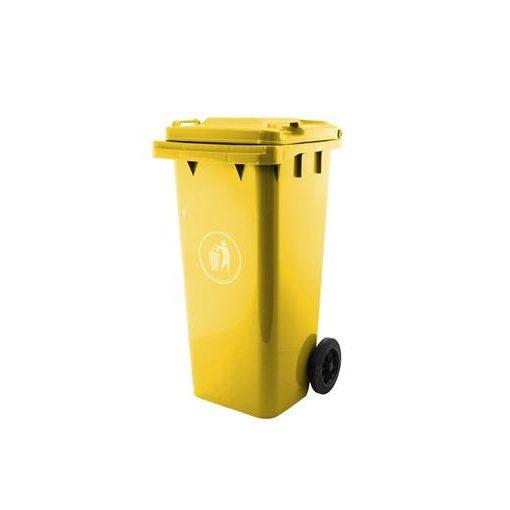 G21 Ga-240 Műanyag Szemeteskuka, Sárga