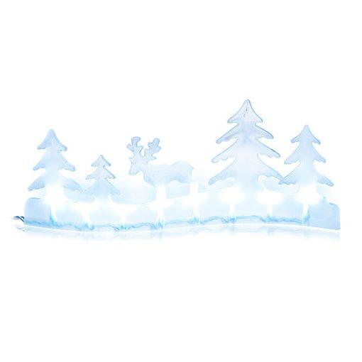 Retlux Rxl 281 Tájkép Rénszarvassal 8 Led Hideg Fehér