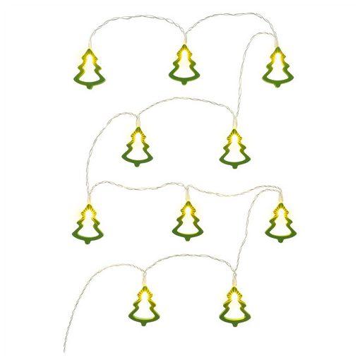 Retlux Rxl 286 Fa Karácsonya 10 Led Meleg Zöld