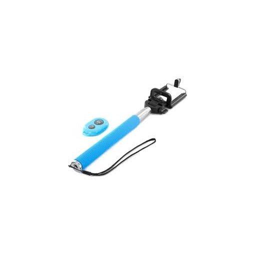Selfie Bot (Monopod) Bluetooth Kioldóval Kék