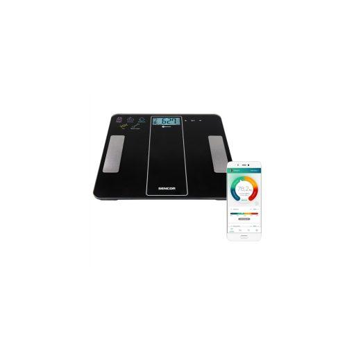Sencor Sbs8000Bk Személymérleg Fitnesz Bluetooth