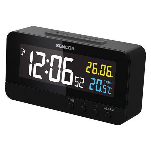 Sencor Sdc4800B Ébresztőóra Hőmérővel