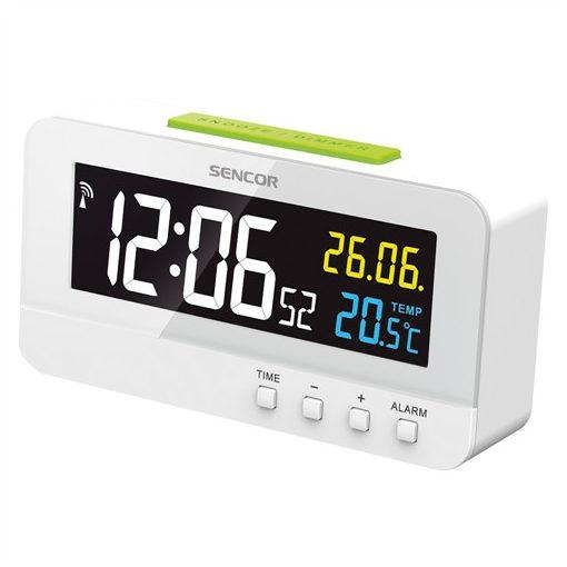 Sencor Sdc4800W Ébresztőóra Hőmérővel
