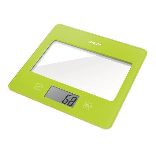 Sencor Sks5021Gr Digitális Konyhai Mérleg Zöld