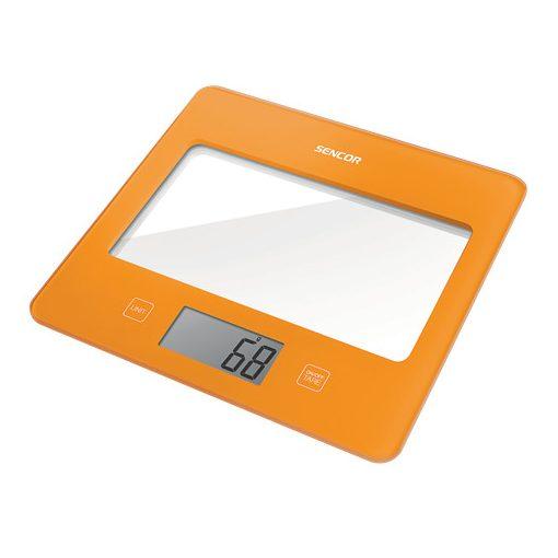 Sencor Sks5023Or Digitális Konyhai Mérleg Narancs