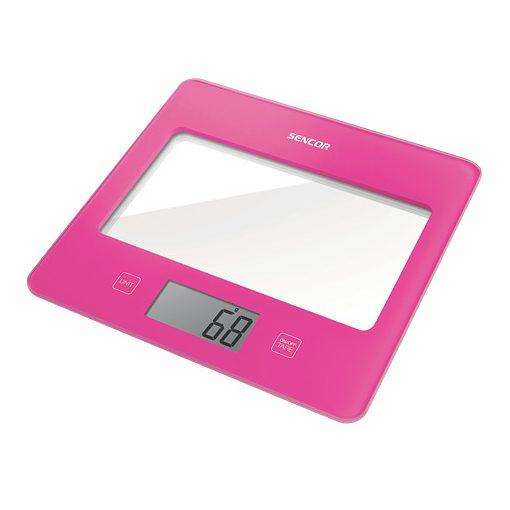 Sencor Sks5028Rs Digitális Konyhai Mérleg Pink