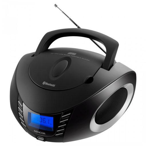 Sencor Spt3600BS FM Rádió CD/BT/MP3/USB/AUX és FM rádióval