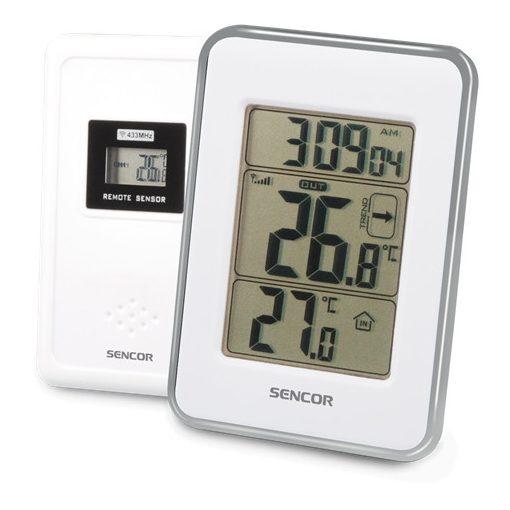 Sencor Sws25Ws Időjárás Állomás Wireless