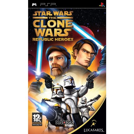 Star Wars The Clone Wars Republic Heroes Psp